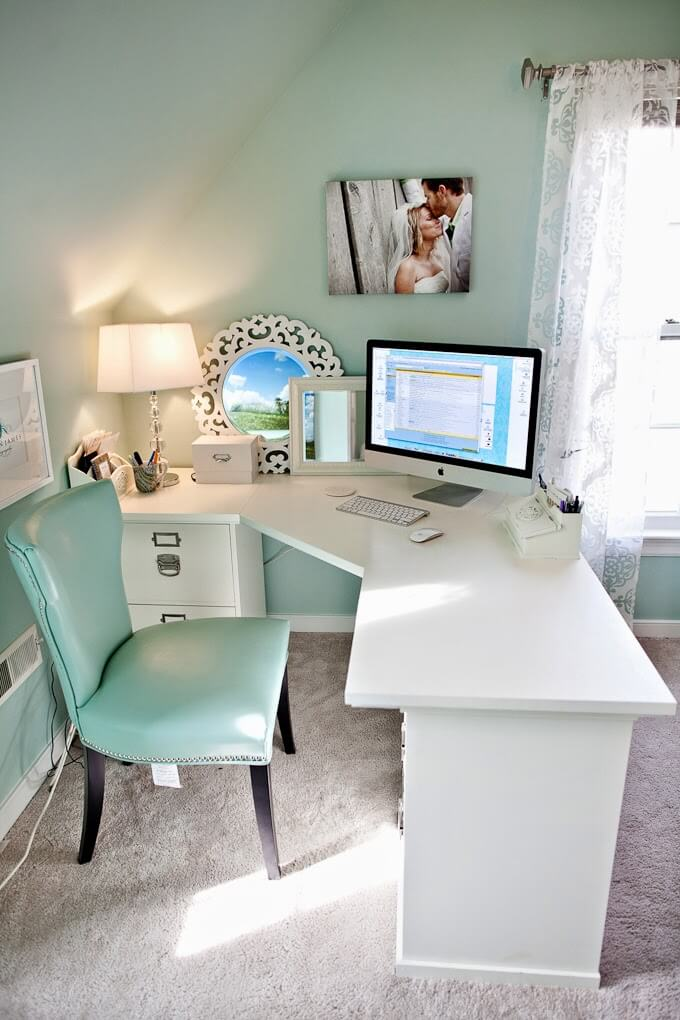 corner computer desk ideas