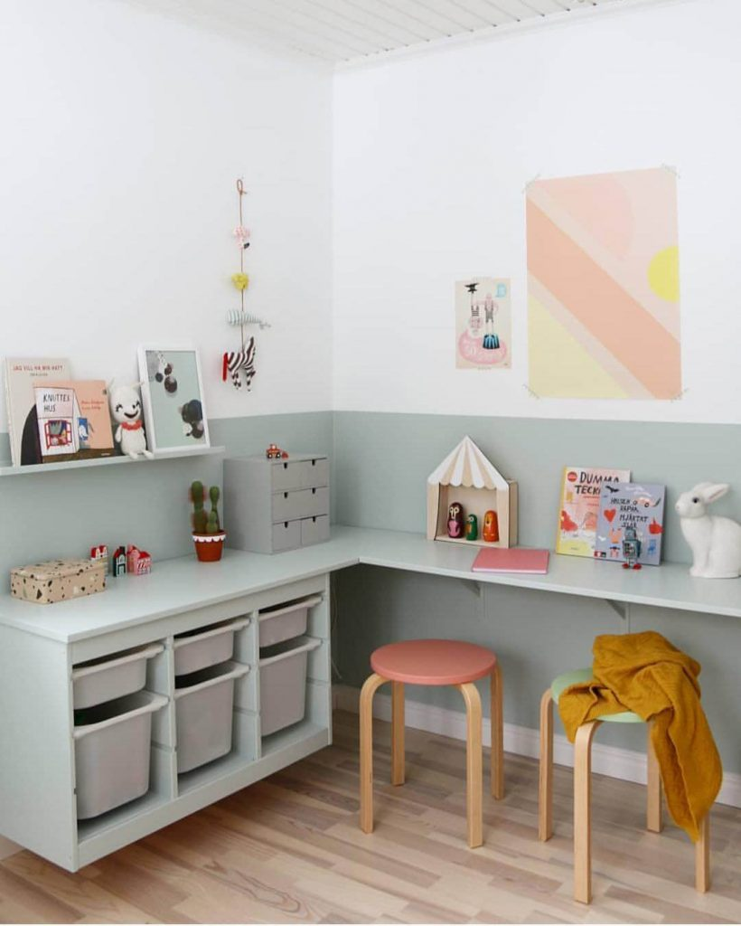 corner desk for kids