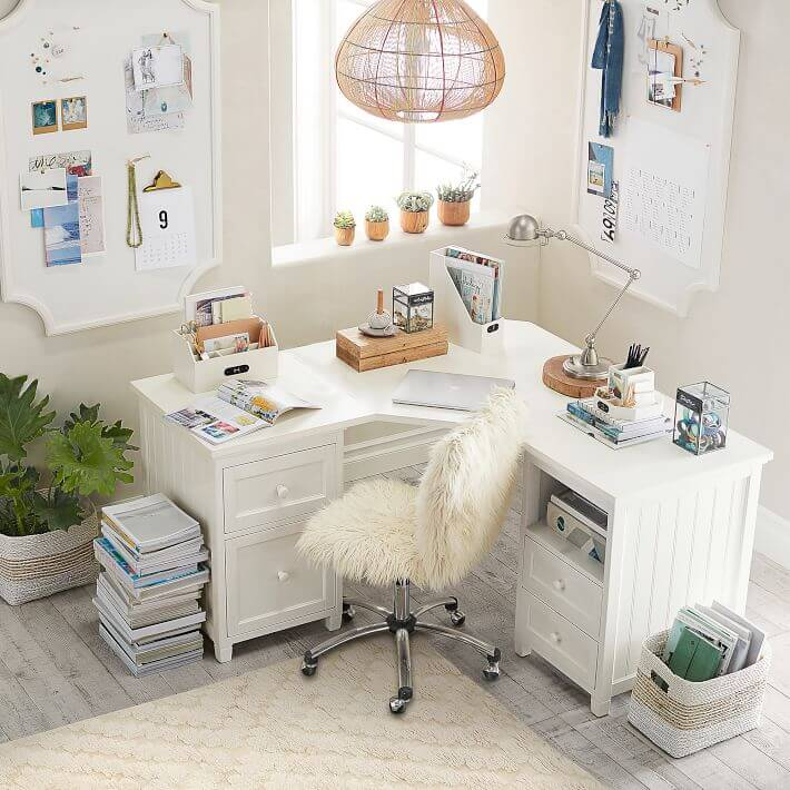 corner desk home office
