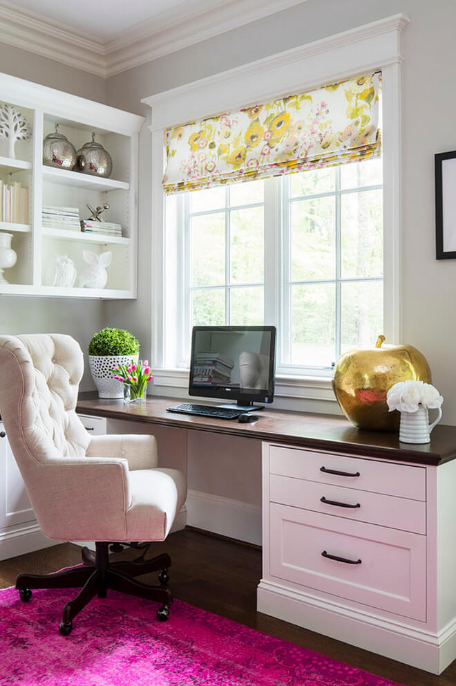 corner desk office ideas