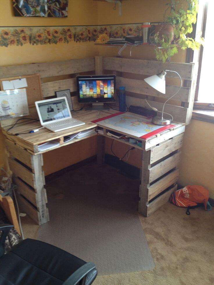 corner desk plans woodworking