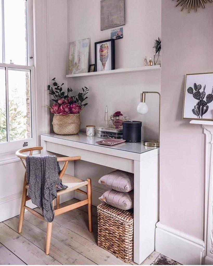 corner desk setup ideas