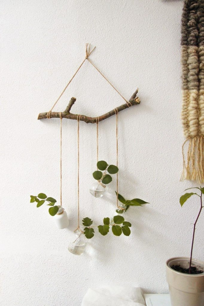 diy hanging planter holder