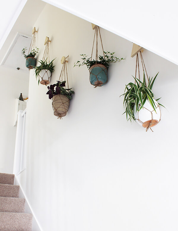 diy wall hanging planters