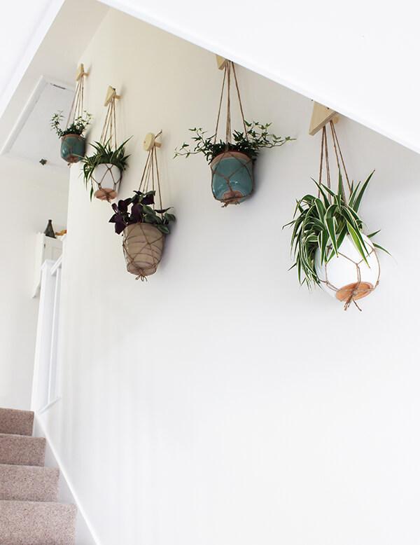 diy wall hanging planters