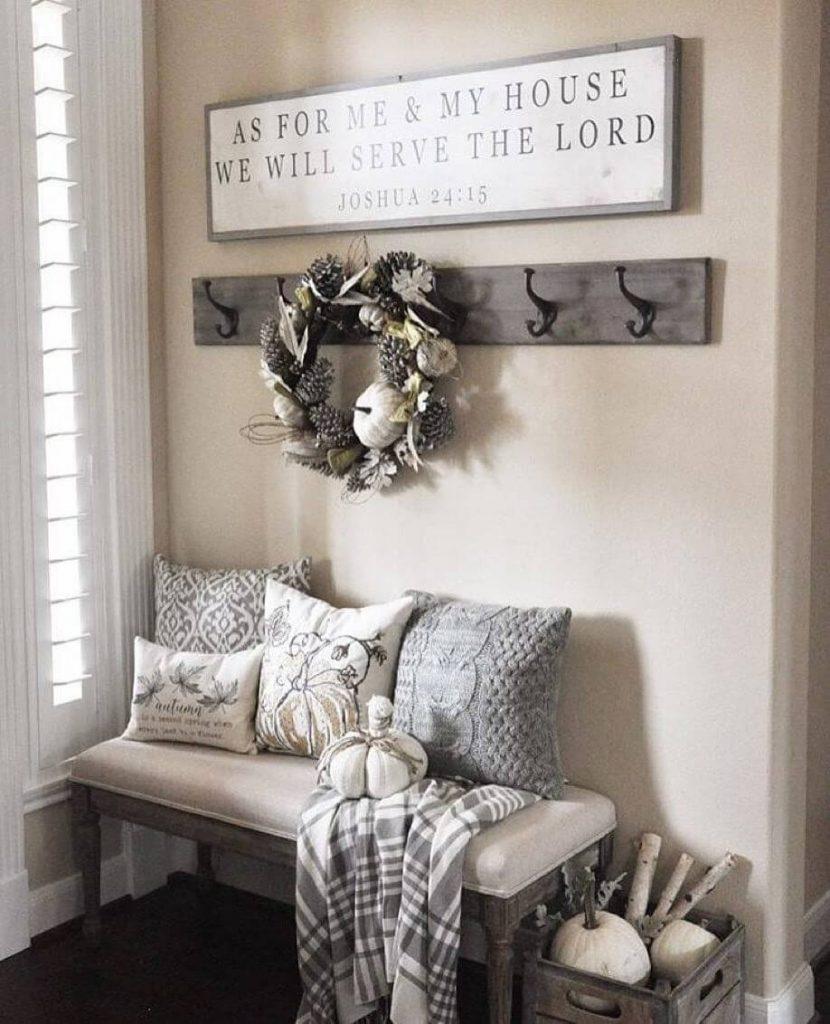 entryway bench decor ideas