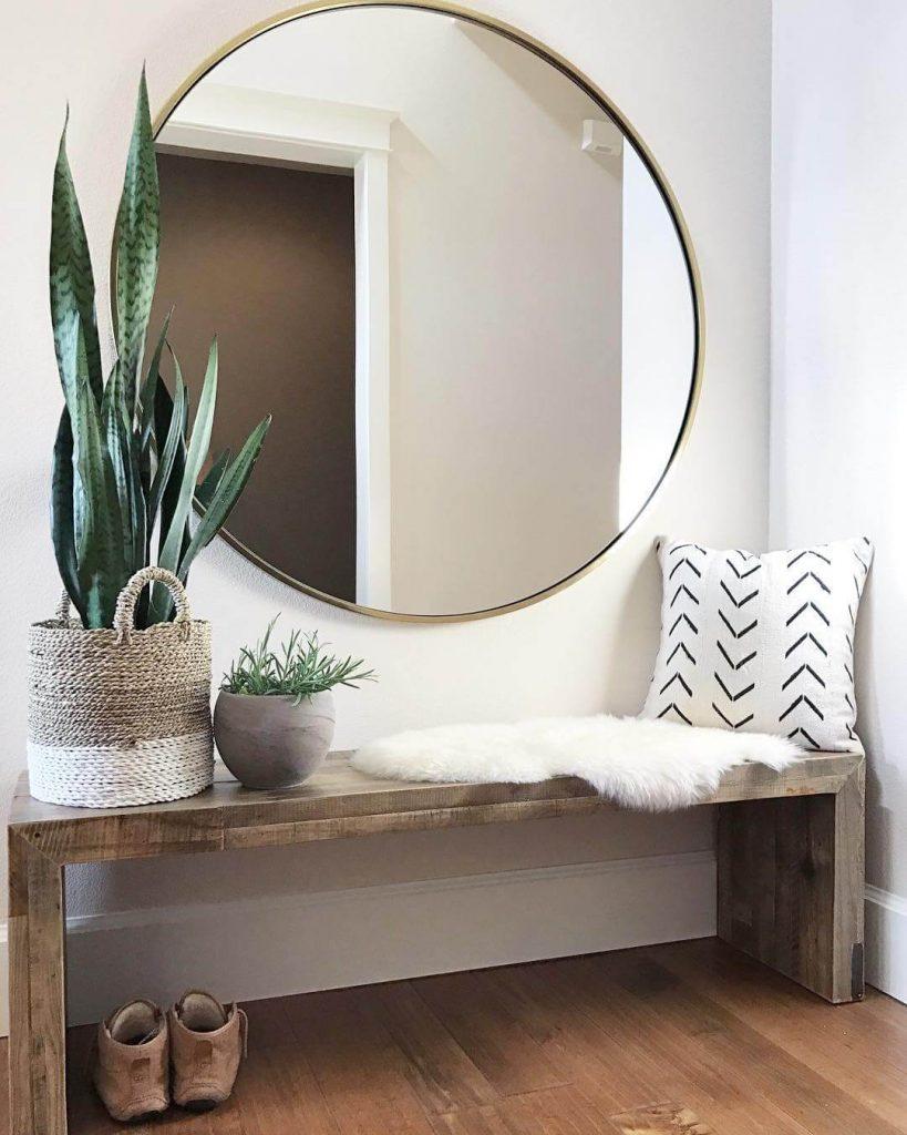 entryway bench ideas modern