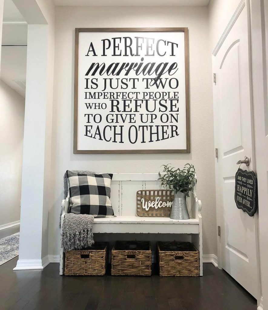 entryway wall art decor