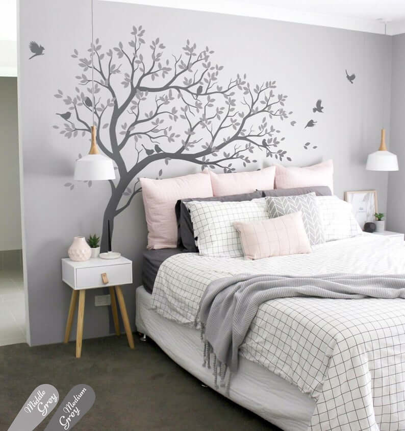 etsy above bed decor