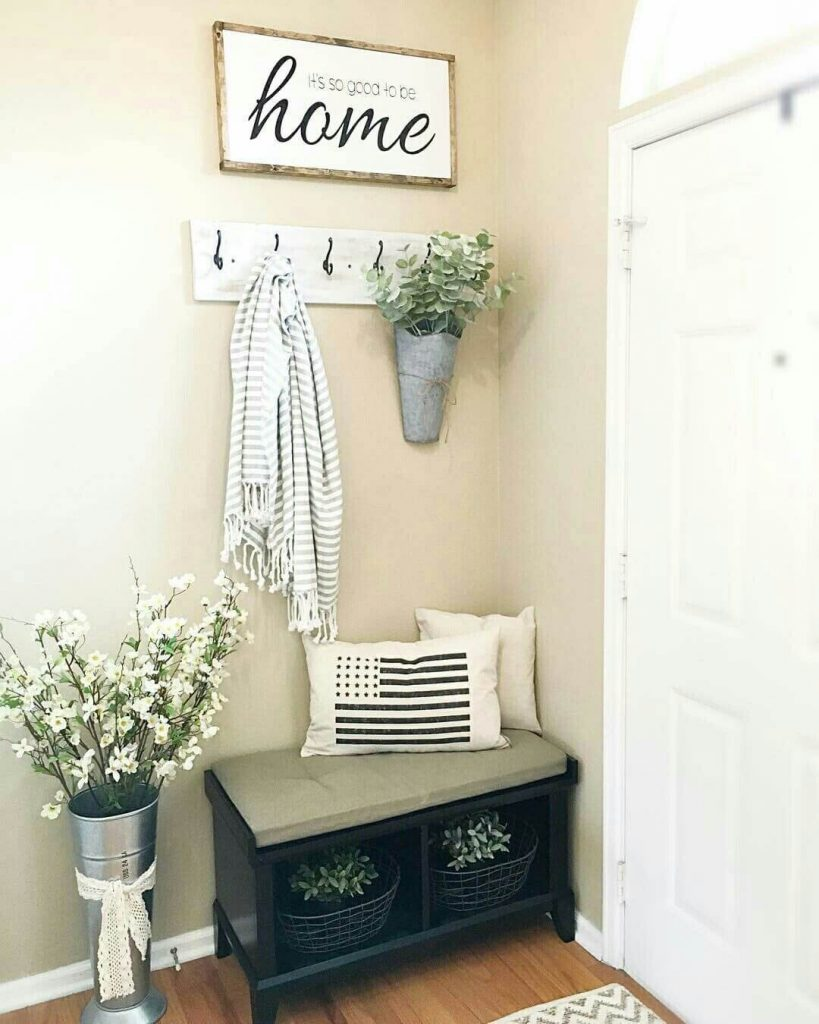 fancy entryway wall decor
