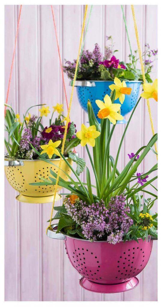 hanging planters pots