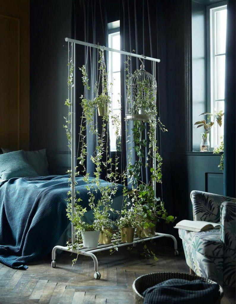 hanging room divider ideas