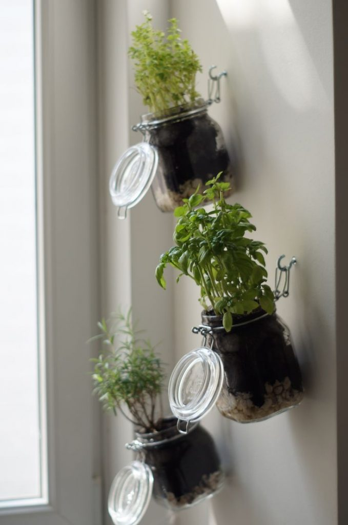 herb garden ideas for small spaces