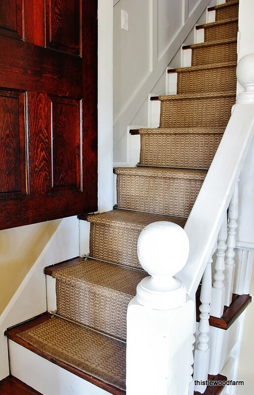 inexpensive stair runner ideas