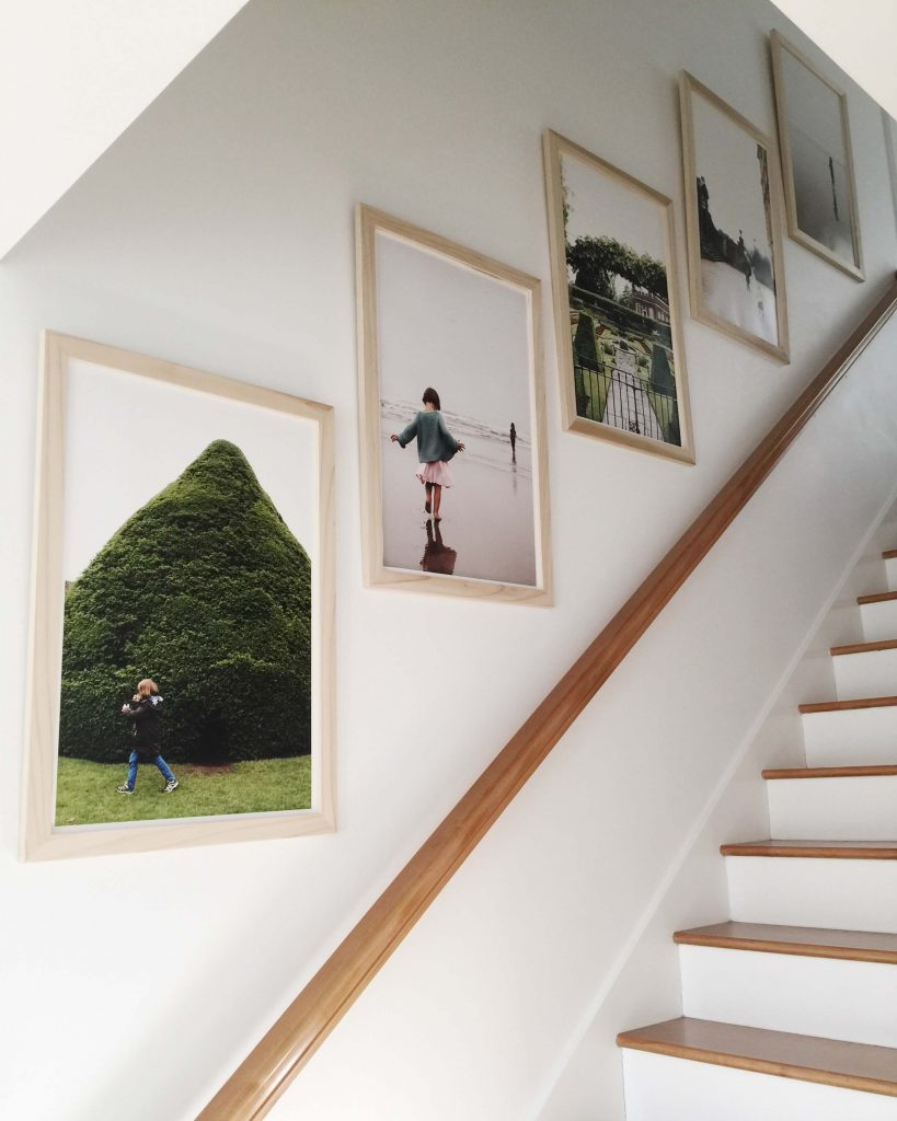 large wall decor ideas for staircase