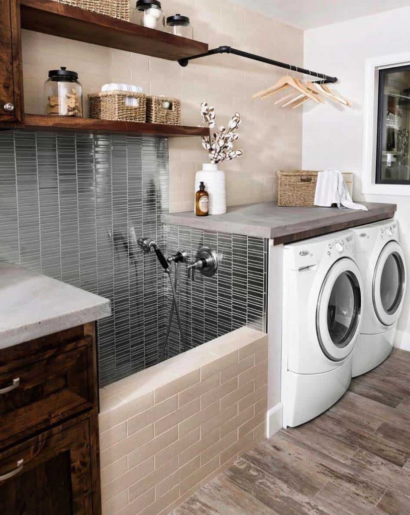 laundry room ideas decor