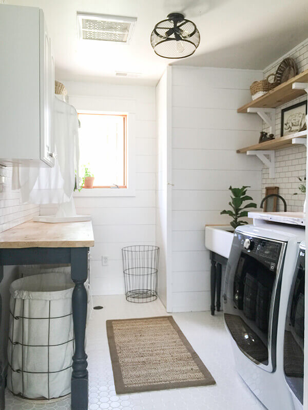 laundry room ideas for basement