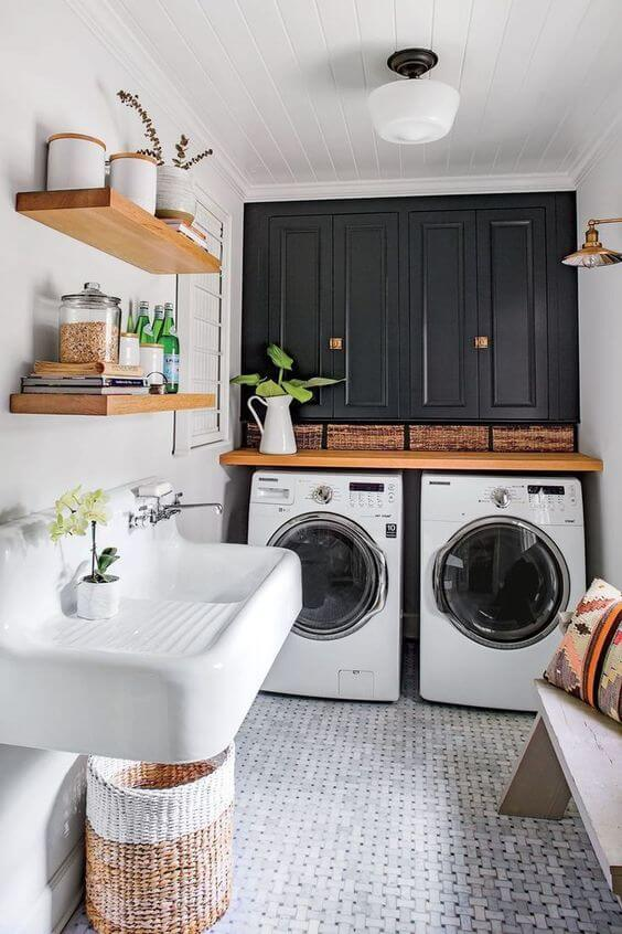 laundry room ideas in basement