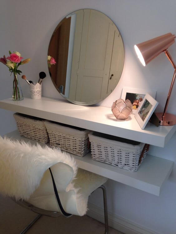 makeup room decor ideas