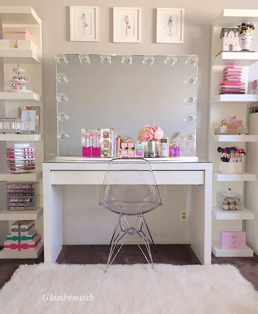 makeup room decorating ideas