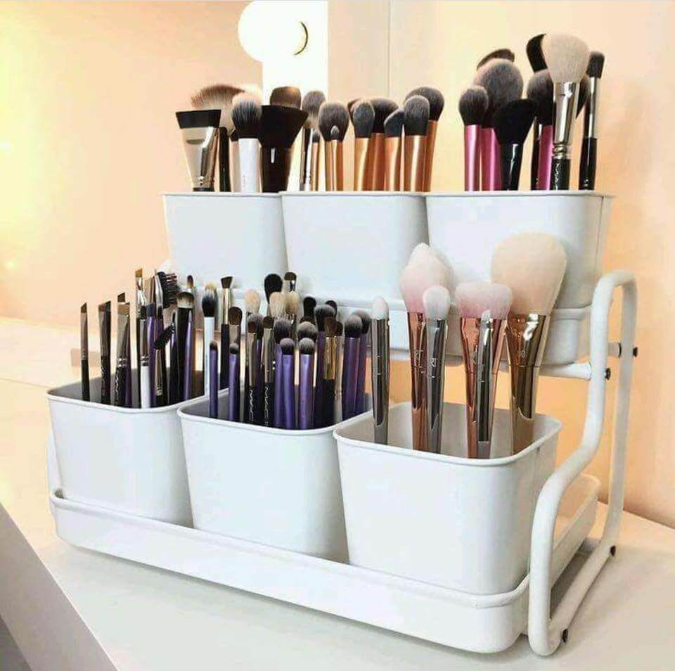 makeup storage ideas cheap