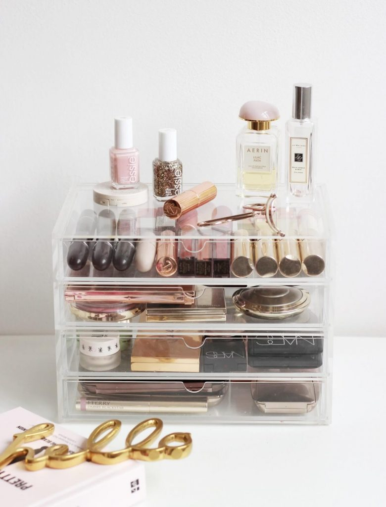 makeup storage ideas pinterest