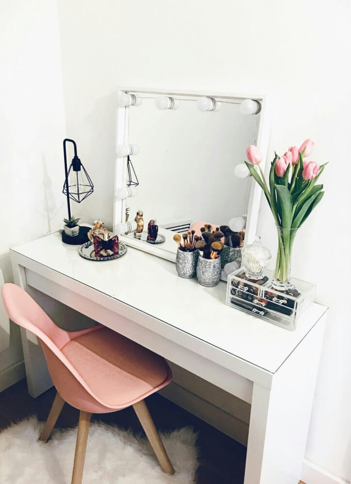 makeup vanity room ideas