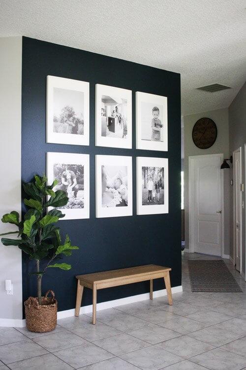 modern entryway wall decor