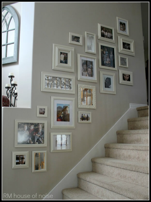 modern staircase wall decor