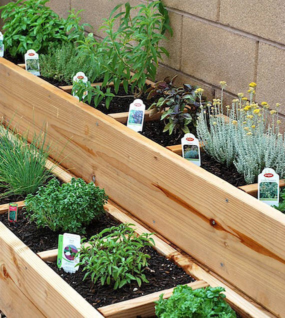 raised herb garden ideas