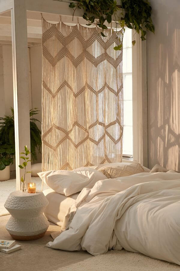 room divider ideas with curtains