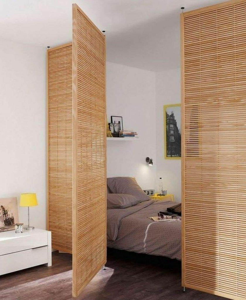 rustic room divider ideas