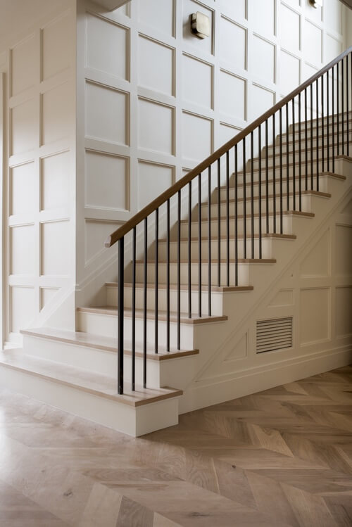 simple staircase wall decor