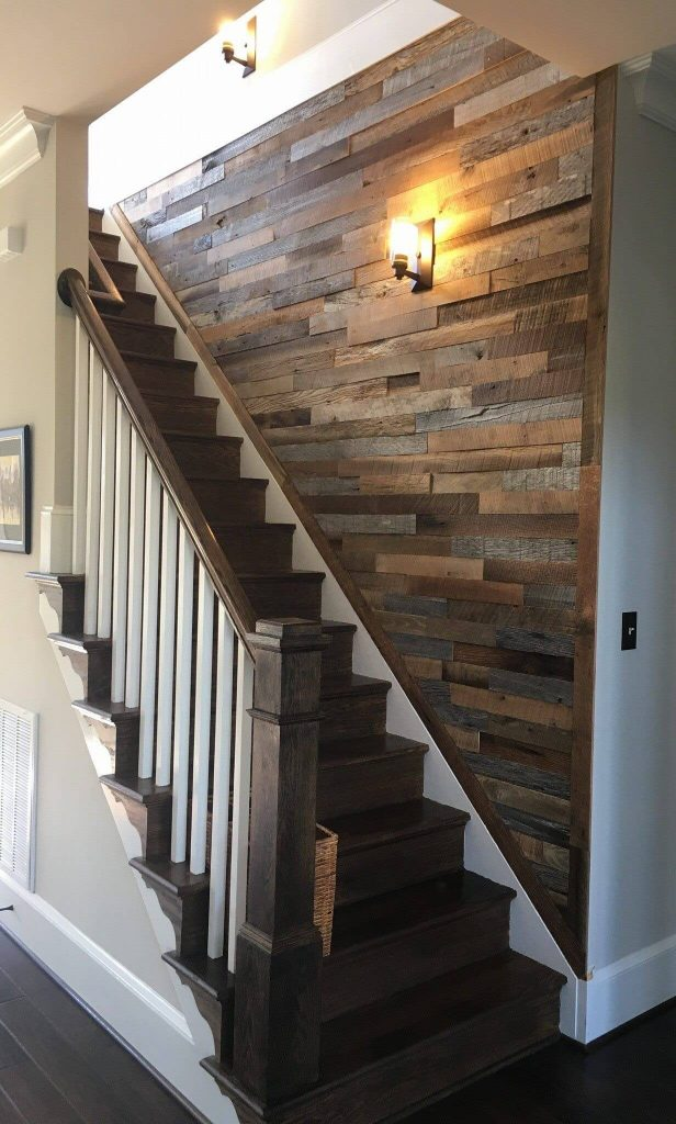 stairway wall decor
