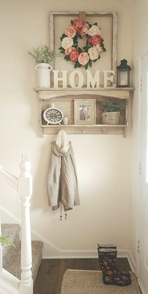 tall entryway wall decor
