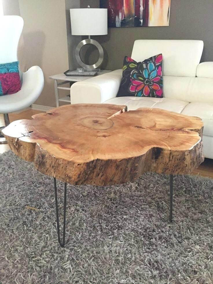 tree stump centerpiece ideas