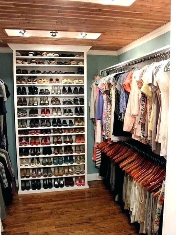walk in closet color ideas