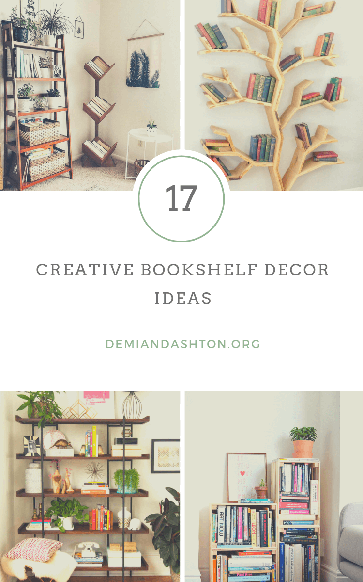 Creative Bookshelf Decor Ideas