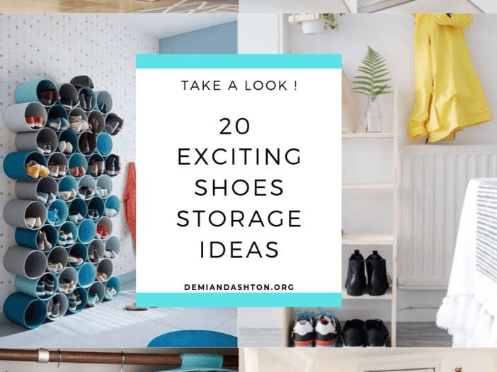 Exciting Shoes Storage Ideas