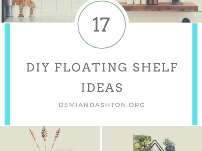 Exclusive DIY Floating Shelf Ideas
