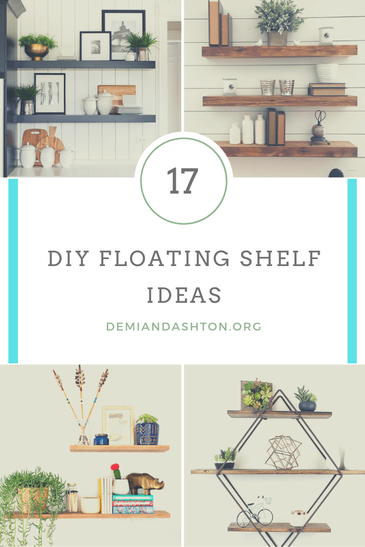 Exclusive DIY Floating Shelf Ideas