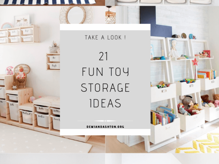 Fun Toy Storage Ideas
