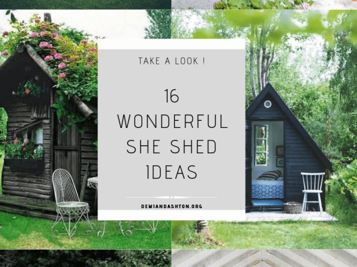 Wonderful She Shed Ideas