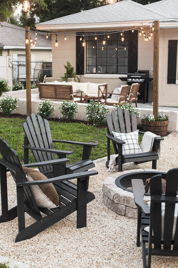 backyard patio ideas concrete