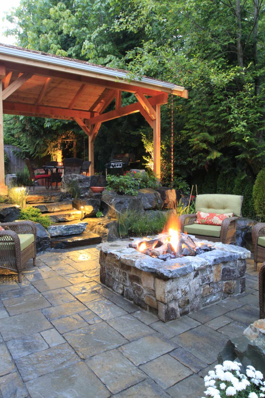 backyard patio ideas with grill