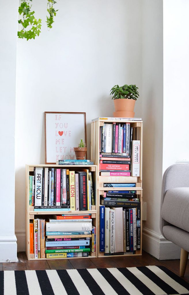bookshelf decor diy