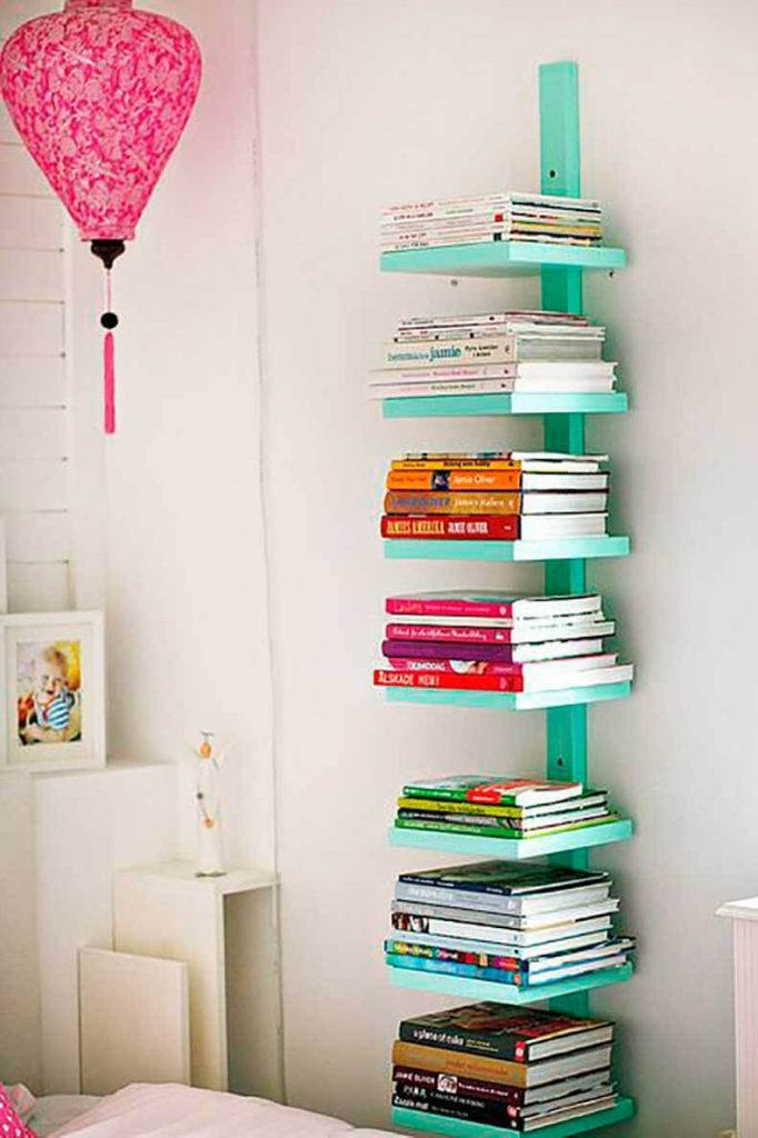 built in bookshelf decor ideas