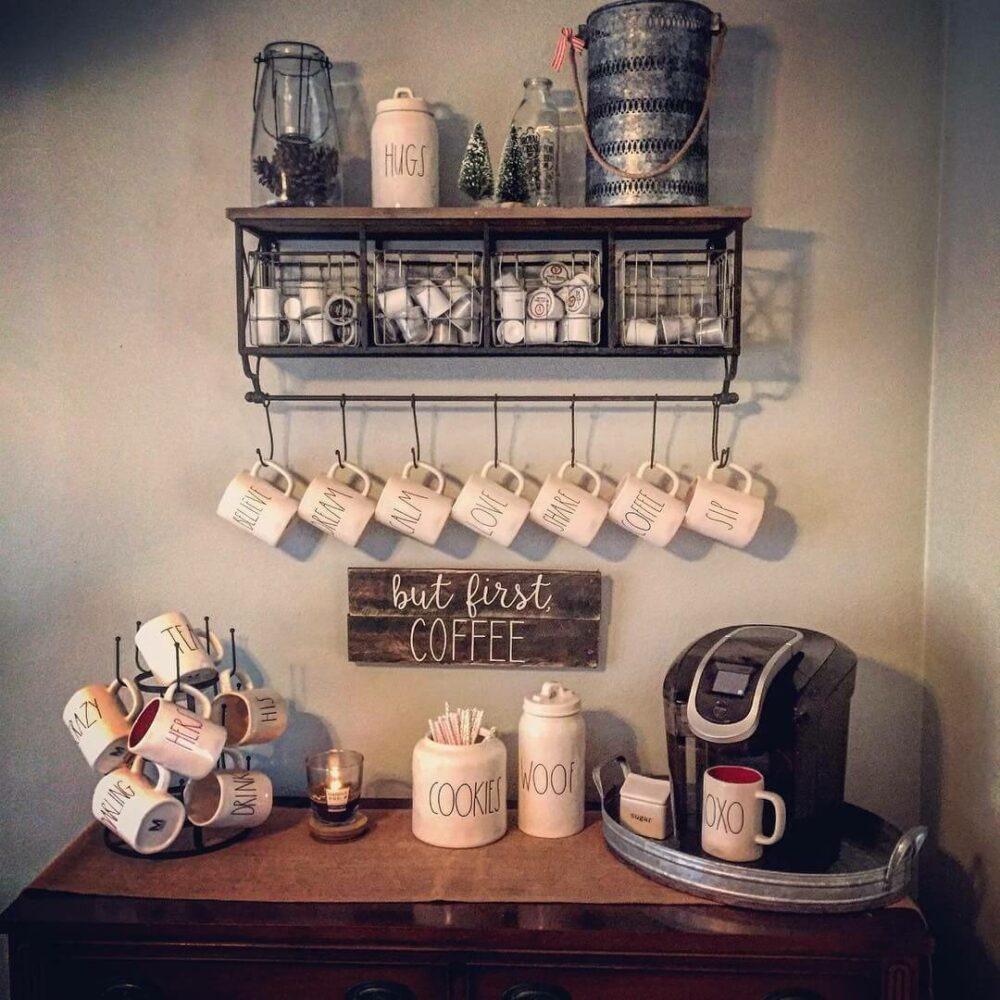 coffee bar cabinet ideas