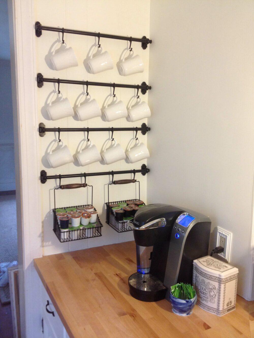 coffee bar ideas for home