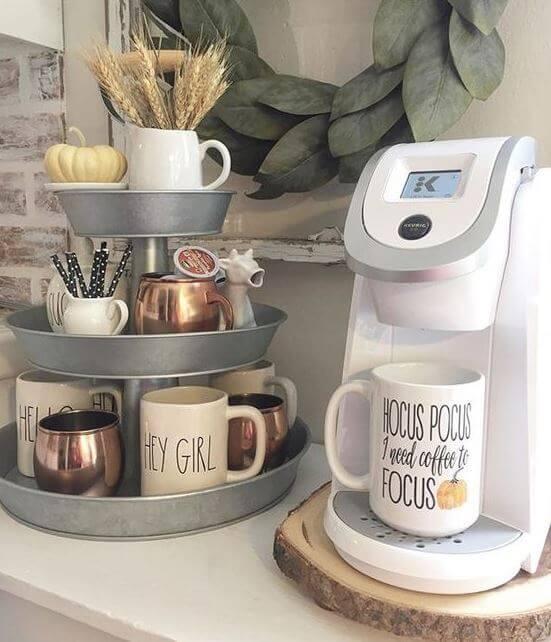coffee bar ideas home